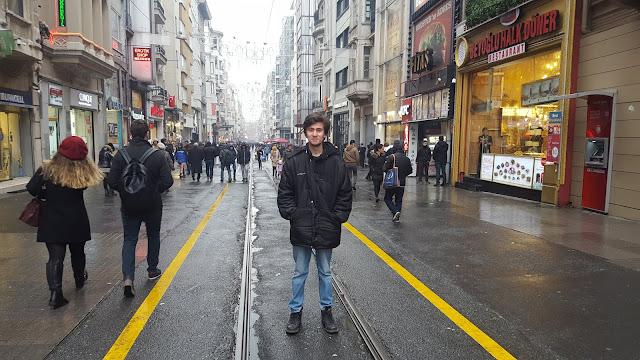 İstiklal Caddesi, İstanbul, Beyoğlu | Harun İstenci - Ocak 2017