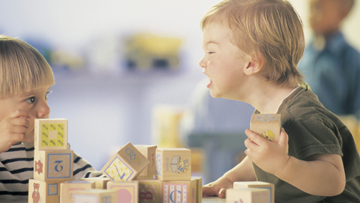 Nasilno ili agresivno ponašanje se često nauči u ranom djetinjstvu