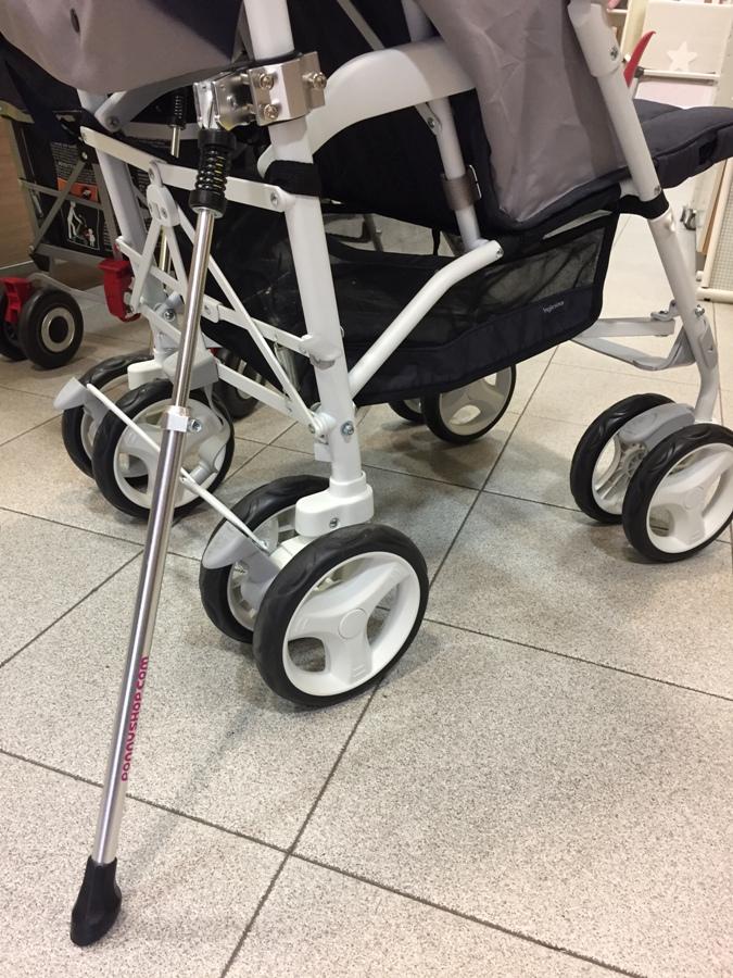 sistema antivuelco para carritos Ponny