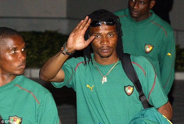 Former Cameroon captain Song suffers stroke