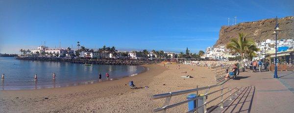 spiaggia di puerto de mogan