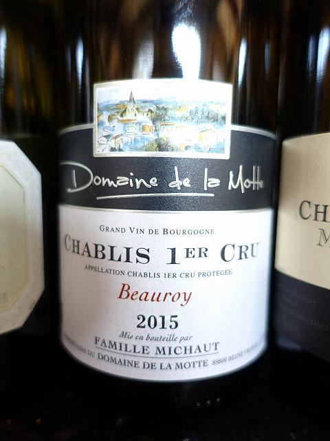 Domaine de la Motte Chablis 1er Cru Beauroy 2015 (91 pts)