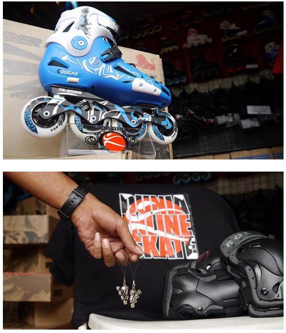 Kontes Foto Inline Skate Berhadiah 3 Sepatu Roda