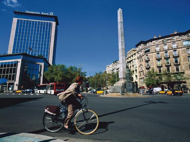 Av. Diagonal em Barcelona
