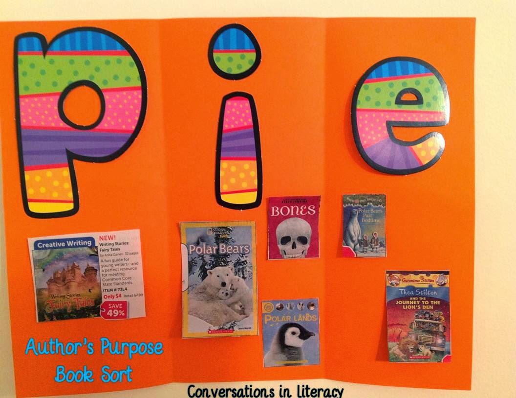 Conversations In Literacy Book Order Fun Authentic Activities