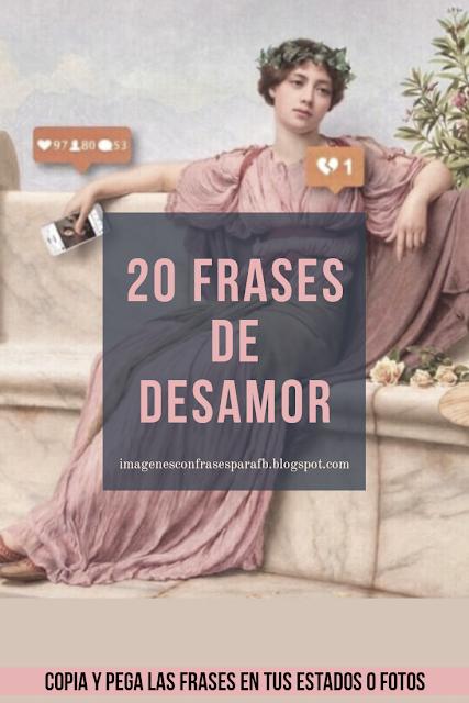20 Frases de Desamor 2019