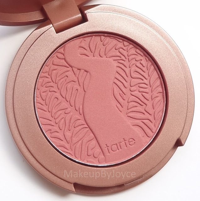 Tarte Exposed Blush Swatch