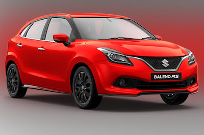 New 2017 Maruti Suzuki Baleno RS premium Hatchback car