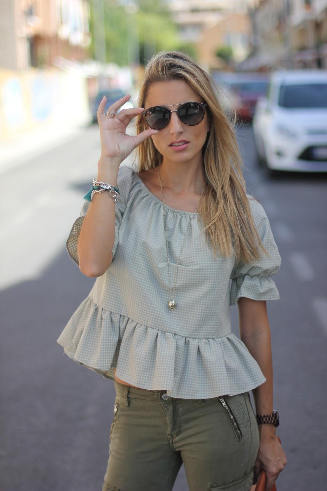 outfit gafas de sol roberto  patalon cargo