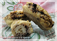 Mini-cakes marbrés à la tapenade sans gluten