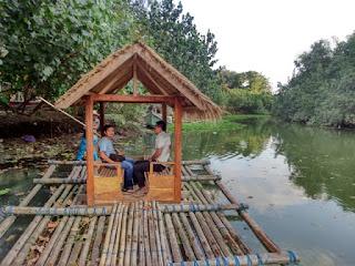 Wisata Bamboo Gondola