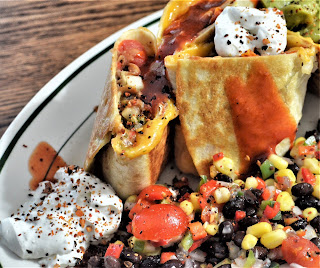 Sour Cream on Burritos