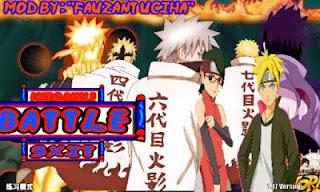 Naruto Senki Mod Apk Full Character Uchiha New Games Narsen Terbaru 2017