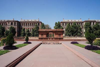Taman Istana raja India