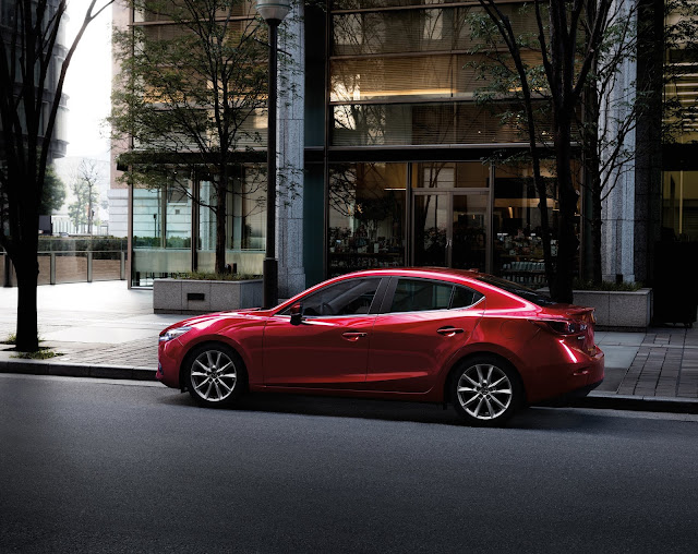 Side view of 2018 Mazda 3 Four-Door