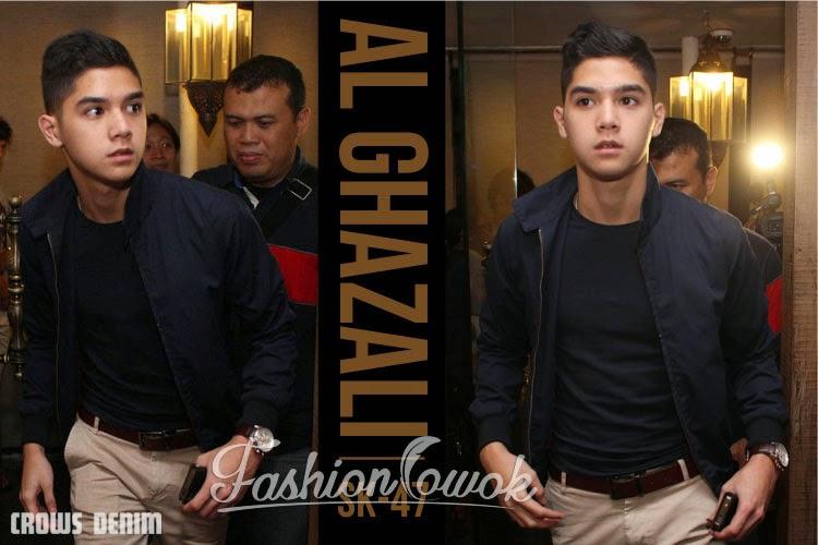 jaket al ghazali fashioncowok fashion cowok