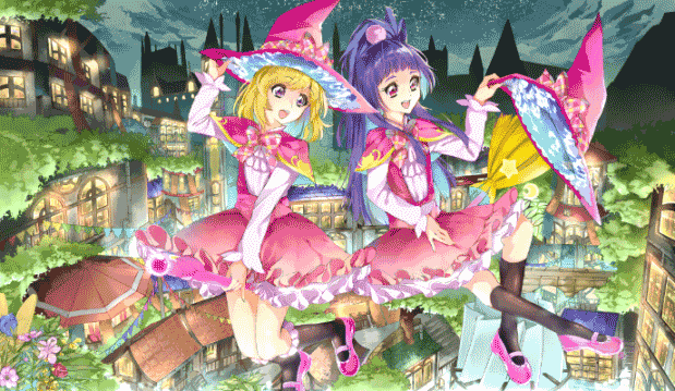 Mahoutsukai Precure! - Daftar Anime Fantasy School Terbaik