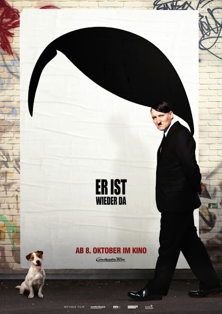 tentang hitler, hitler main film review look who's back, review er ist weider da 2015, pemeran hitler di film, oliver masucci is hitler, oliver masucci memerankan adolf hitler, pemeran adolf hitler adalah oliver masucci, film komedi adolf hitler, stand up comedy adolf hitler