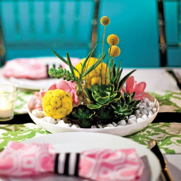 centros de mesa para bodas con flores