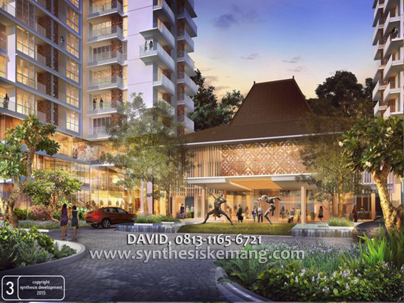 Apartemen Bangsawan Bernuasa Etnik Jawa Modern