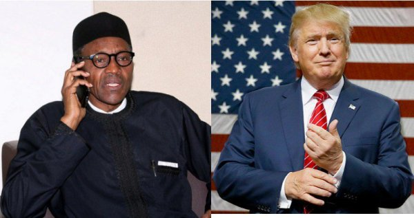 Donald Trump to phone call Buhari