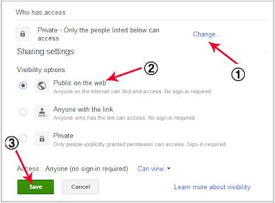 Memasukkan File Pdf ke Postingan Blog dari Google Drive