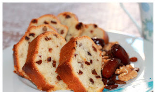 Cake with Raisins (Kuru Uzumlu Kek)