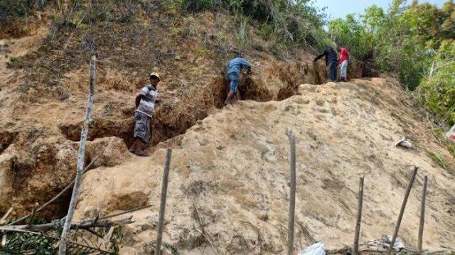 Heboh Penemuan Bukit Diduga Mengandung Emas di Sulut, Lokasi Diamankan Kepolisian