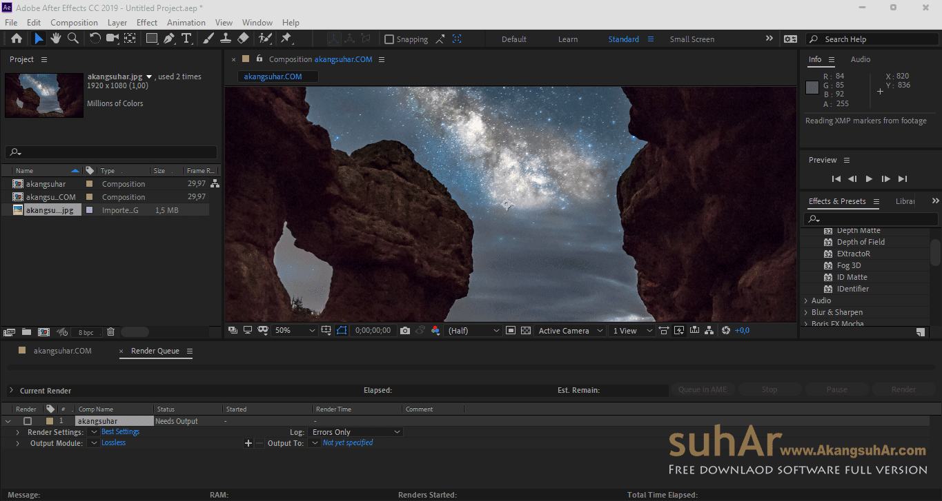 Download Adobe After Effects CC 2019 Final Latest Version, Adobe After Effects CC 2019 Offline Installer