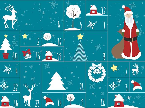 7 parasta ruoka- ja terveysaiheista joulukalenteria