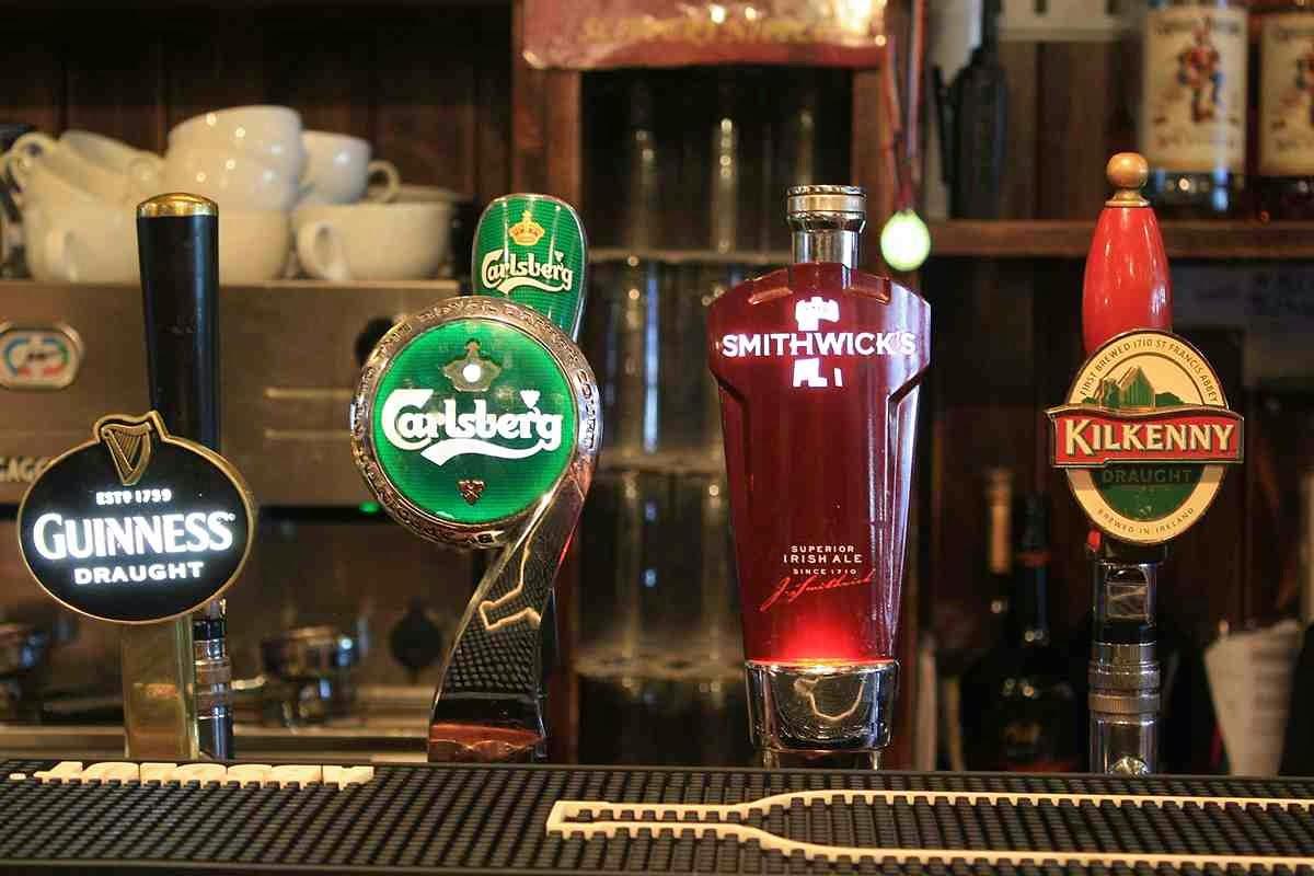 Die verschiedenen Biersorten in Irland