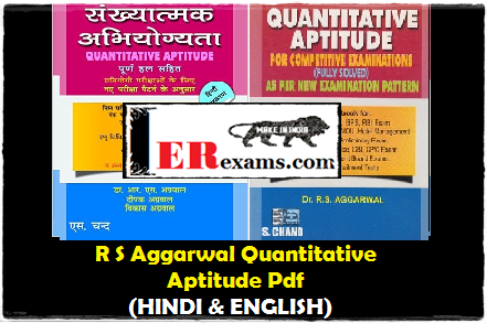 Rs Aggarwal Quantitative Aptitude Pdf 2014 In English