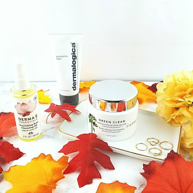 My Fall/Winter Cleansing Routine for Very Dry Skin 3