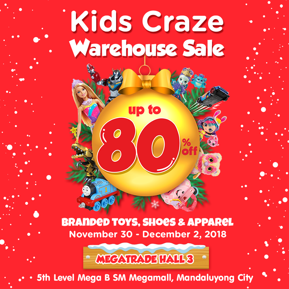 4ff7c33d967 Manila Shopper Kids Craze Warehouse Sale At Sm Megatrade
