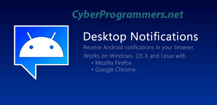 Get android notifications