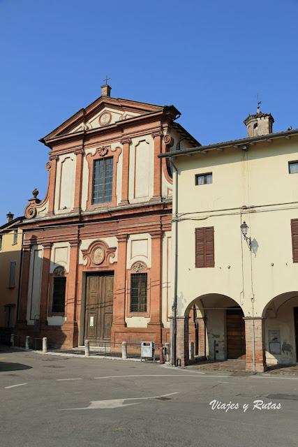 Oratorio de Santa Maria Assunta o San Gaetano. Fontanellato