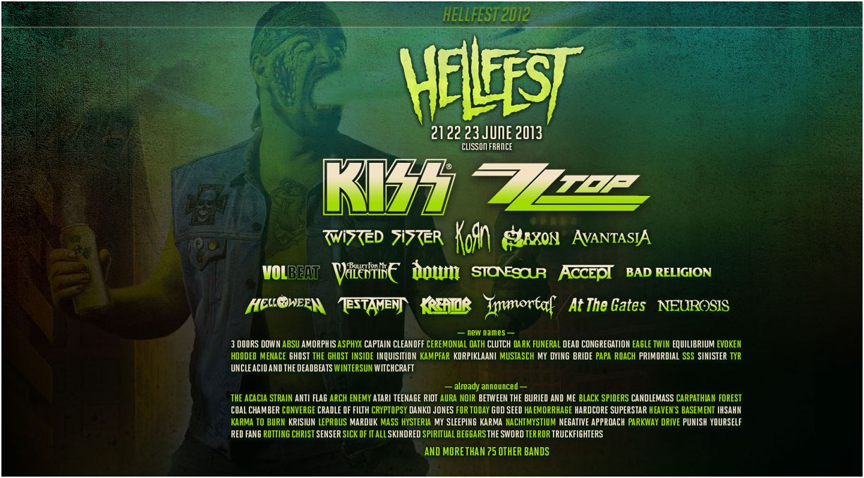 hellfest 2017 line up