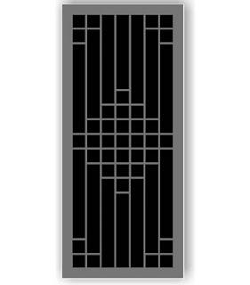 Sketsa model teralis jendela minimalis
