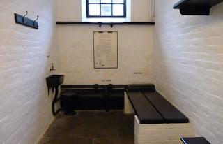 Cárcel Militar del Castillo de Edimburgo.