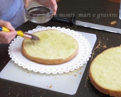 Tra monti, mari e gravine: Torta con fragole e panna