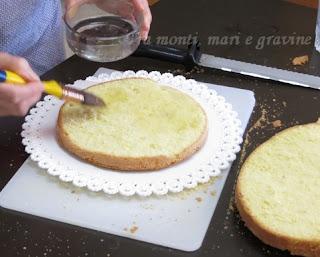 Fragole, pan di spagna gf, pan di spagna, panna