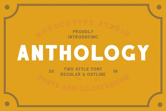 Anthology Font