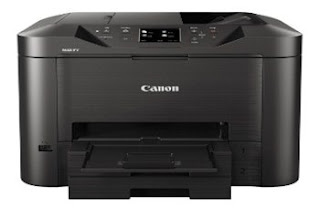 "Printing, copying, scanning or faxing is simple, with the Canon MAXIFY MB5150 Series large 8.8 cm (3.5"") TFT color touchscreen"