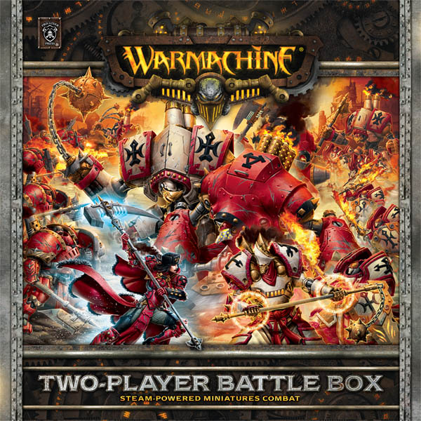 WARMACHINE 2 player battle box photo