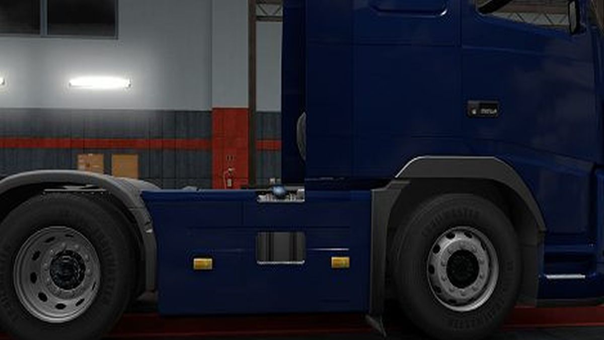 Classic 6×4 Sideskirts for Volvo FH16