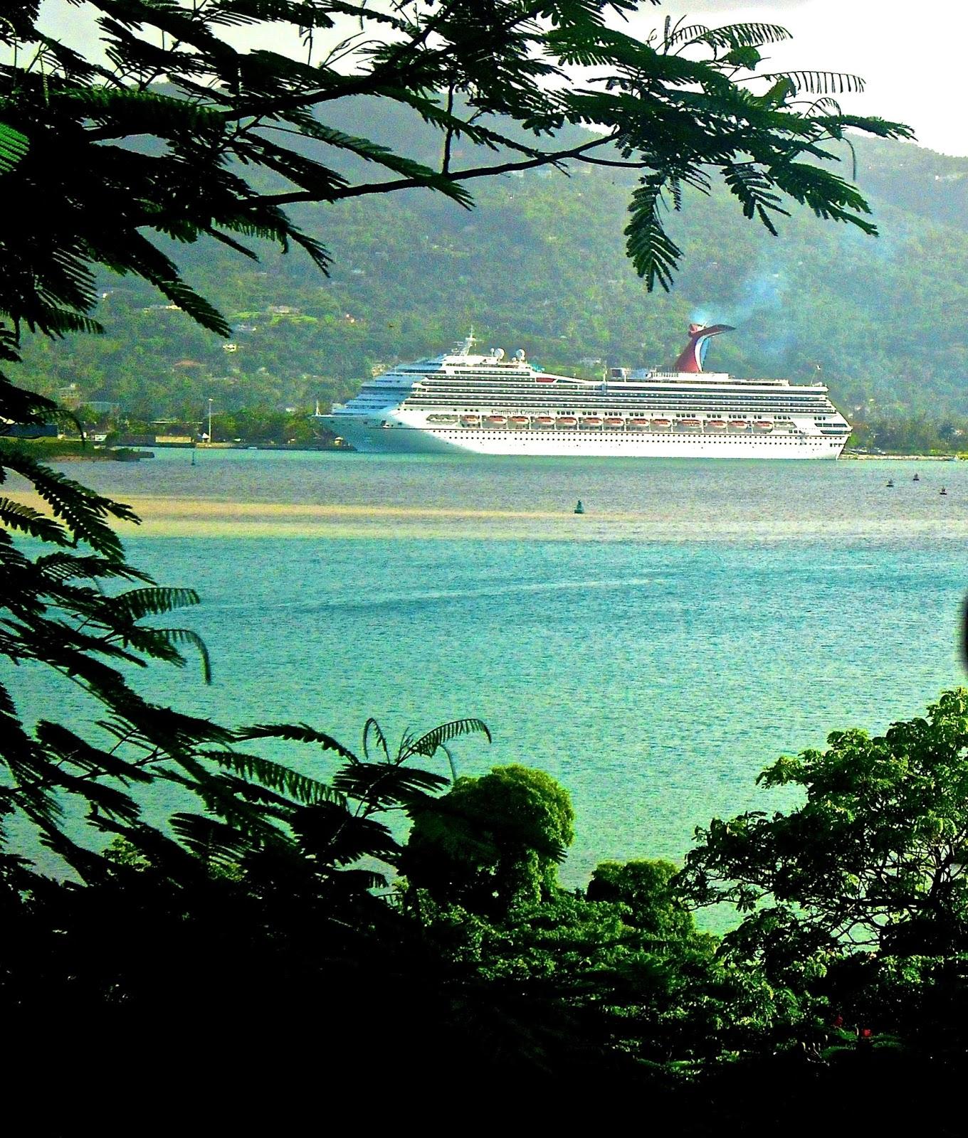 Our cruise through the Caribbean.