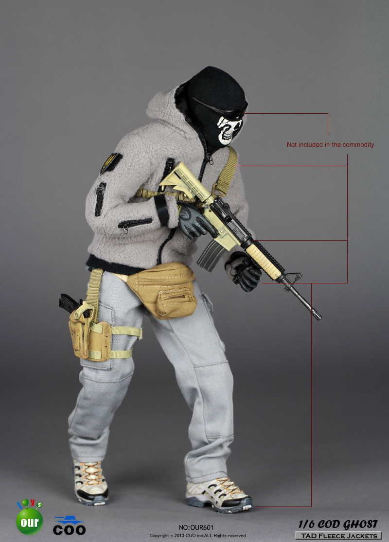 toyhaven: Incoming CooModel 1/6 scale COD (Call Of Duty) Ghost ...