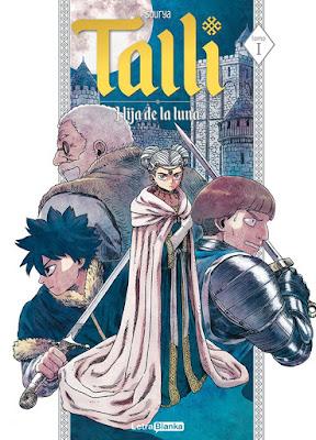"Manga: Review de ""Talli: Hija de la Luna 1"" de Sourya - LetraBlanka Editorial"