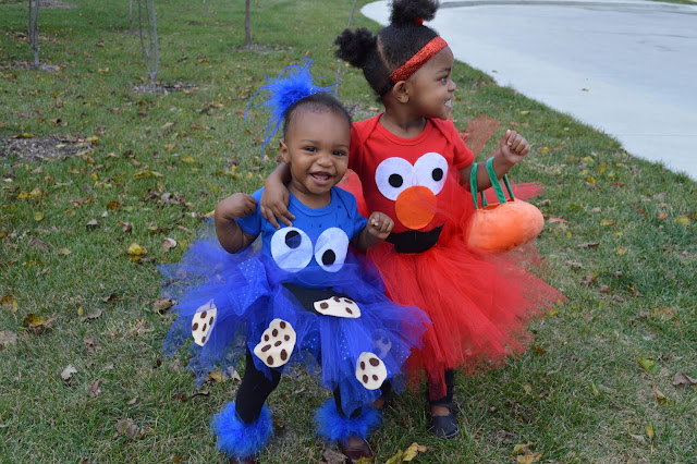 Homemade Sesame Street Halloween Costumes