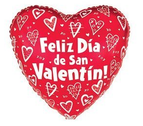 Happy Valentines Day 2017 SMS in Spanish